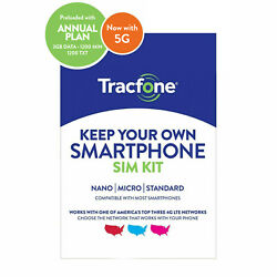 Kyпить Tracfone Prepaid Wireless Smartphone SIM+Plan-1200 Min,1200 Txt, 3GB Data на еВаy.соm