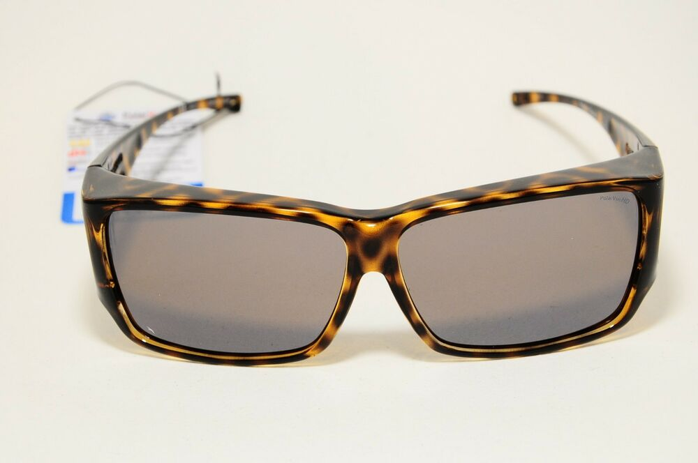 0938fd7e0e65 Details about JONATHAN PAUL FITOVERS POLARIZED SUNGLASSES ORION CHEETAH AMBER  LARGE NEW