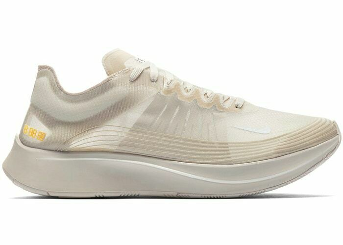 47da600a1c3f6 Details about Nike Zoom Fly SP Men s Running Shoes Light Bone White AJ9282  002 Size