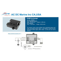Boat OHMS Resistance Exchanger Converts OHMS for Senders and Gauges