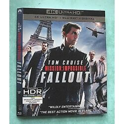 Kyпить MISSION IMPOSSIBLE FALLOUT, THE MUMMY, MARY POPPINS  4K Blu ray slipcover  на еВаy.соm