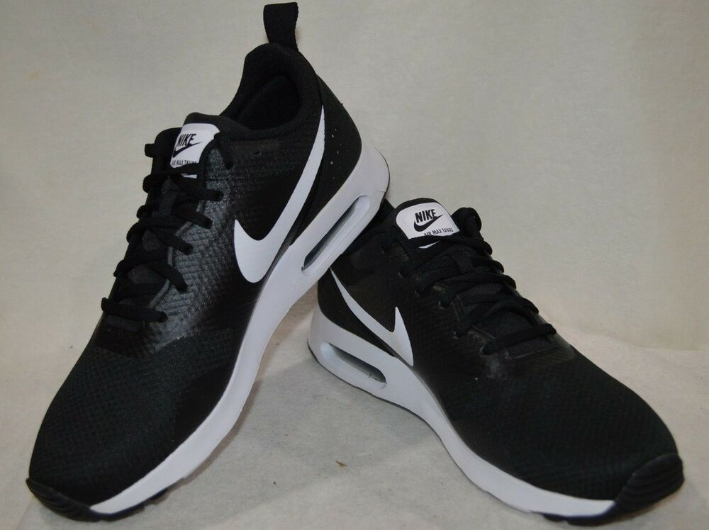 34256d9f9c Details about Nike Air Max Tavas Black/White Men's Running Shoes - Size  11.5 NWB 705149-009