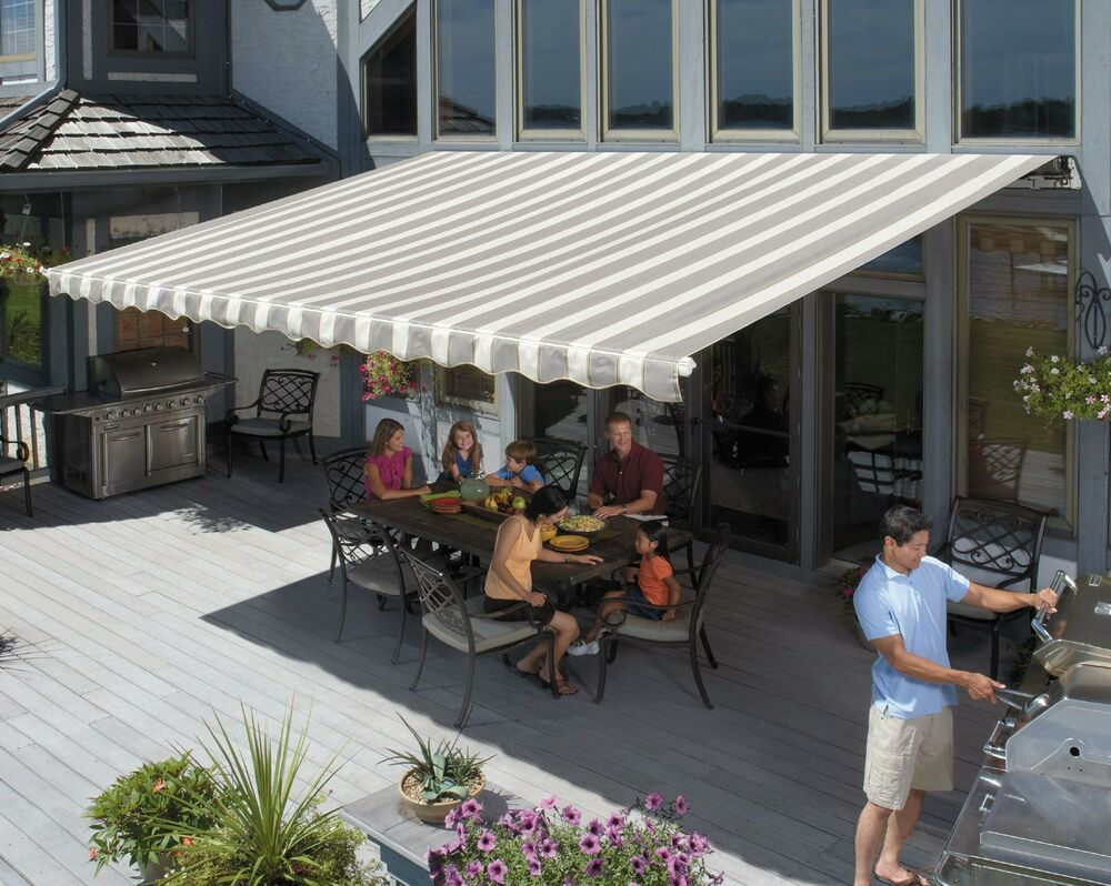 SunSetter Motorized Retractable Awning, XL Model Awnings ...