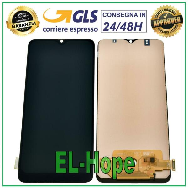 DISPLAY LCD PER SAMSUNG GALAXY A70 SM-A705 A705F TOUCH SCREEN SCHERMO NERO