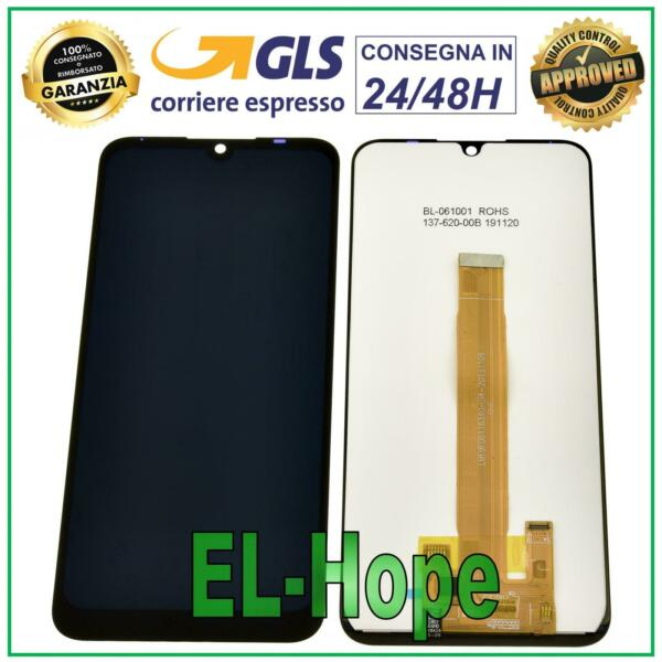 DISPLAY LCD PER WIKO VIEW 3 LITE W-V800 TOUCH SCREEN VETRO SCHERMO 6.09'' NERO