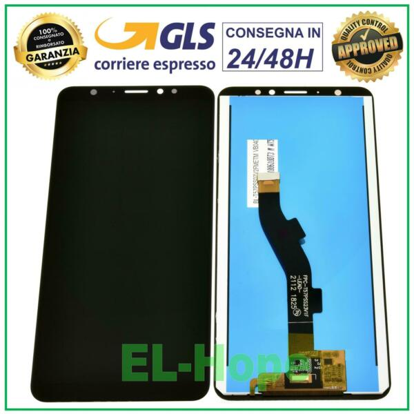 DISPLAY LCD PER MEIZU M8 M813H M813Q TOUCH SCREEN VETRO SCHERMO MONITOR NERO
