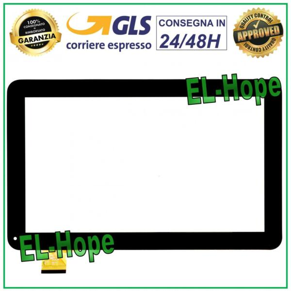 TOUCH SCREEN VETRO MEDIACOM M-MP1S2A3G SMARTPAD S2 3G 10.1 TABLET ORIGINALE NERO