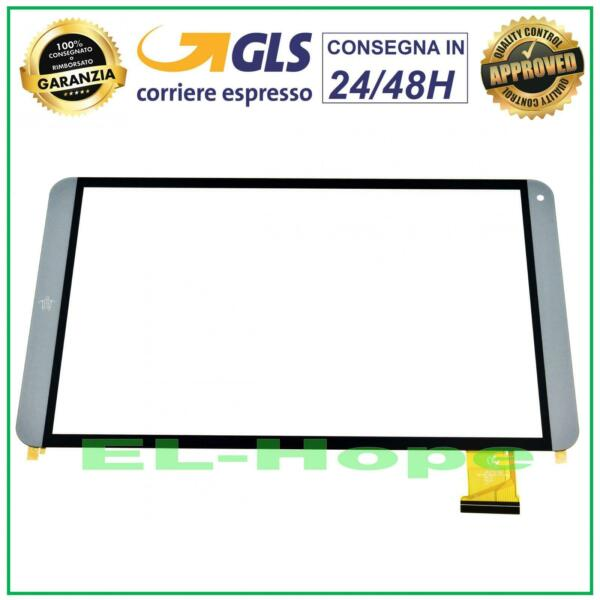 TOUCH SCREEN VETRO MEDIACOM SmartPad Mx 10 HD Lite M-SP10MXHL ORIGINALE GRIGIO