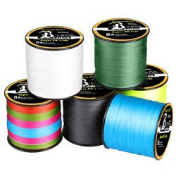 Kyпить 300-1000M Super Strong PE Lines Braided Sea Fishing Line 4/8 Strands 12-100LB на еВаy.соm