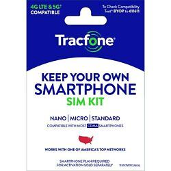 Kyпить Tracfone Prepaid Wireless Smartphone Plan+SIM-1200 Min,1200 Txt, 3GB Data на еВаy.соm