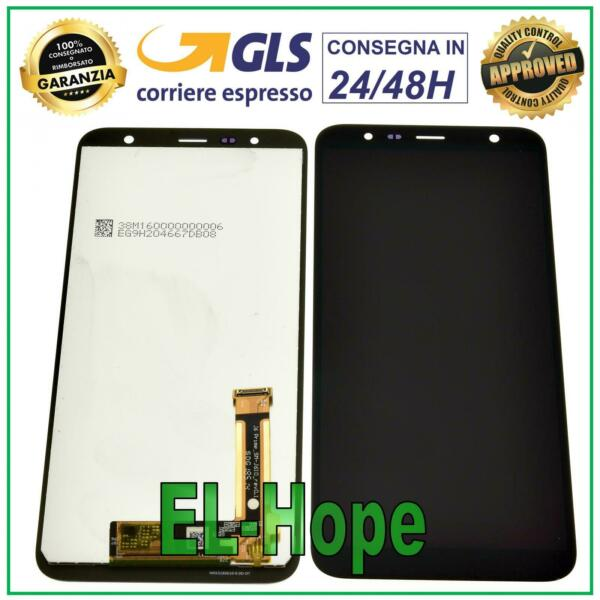 DISPLAY LCD SAMSUNG GALAXY J4+ PLUS 2018 SM J415 FN TOUCH SCREEN VETRO NERO