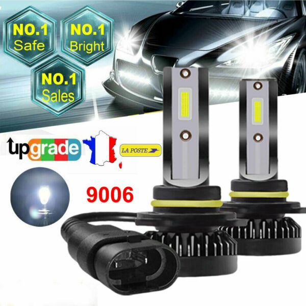 110W 20000LM 9006 HB4 LED Voiture Lampe Kit Phare Feux Ampoule Replace Xénon 2pc