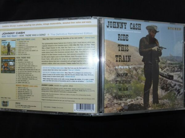 CD JOHNNY CASH / RIDE THIS TRAIN / THE DEFINITIVE REMASTERED EDITION / 27 TRACKS