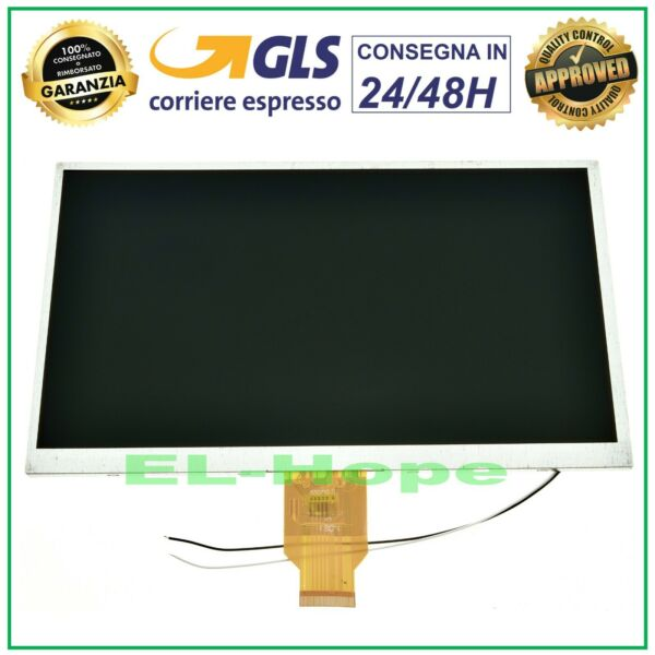 DISPLAY LCD MEDIACOM 1010I SMARTPAD M-MP1010I ORIGINALE SCHERMO MONITOR 10,1