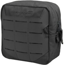Pentagon Elpis 15x15 Utility Pouch Airsoft Army Hunting MOLLE Laser Cut Black