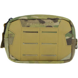 Pentagon Elpis 15x10 Utility Pouch Military MOLLE Airsoft Hunting MultiCam Camo