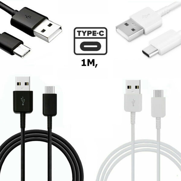 Samsung Galaxy A20 A50 A70 A20e 1m Fast Type-C Sync Charger Charging USB Cable