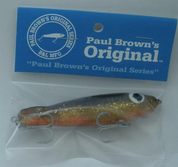 L/&S MIRROLURE TINY TROUT w// Rattler TTR-26 7643