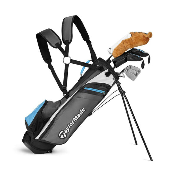 TaylorMade Rory McIlroy Junior +8 Golf Package Set - Blue
