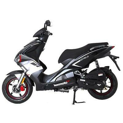 New Lexmoto 2020 Diablo 50cc Moped Scooter. Free £100 helmet included