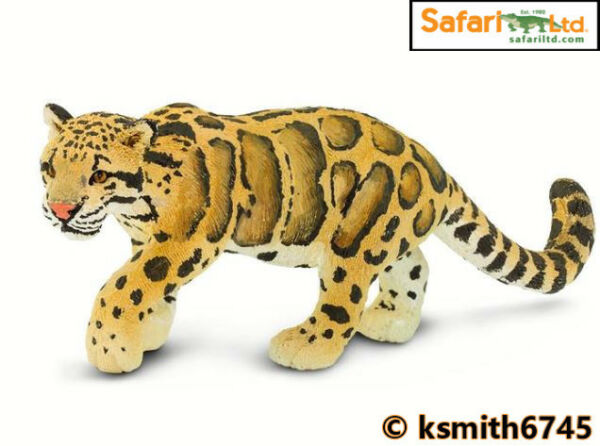 NEW Schleich SNOW LEOPARD solid plastic toy wild zoo animal cat panther