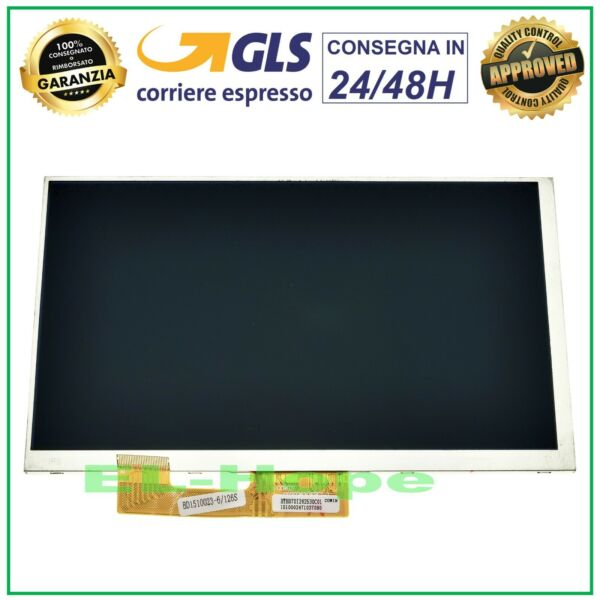 DISPLAY LCD MEDIACOM SMARTPAD MX 7 M-SP7MXA ORIGINALE SCHERMO MONITOR 7,0