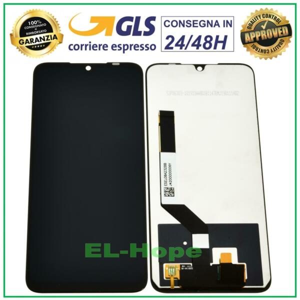 DISPLAY LCD XIAOMI REDMI NOTE 7 / 7 PRO TOUCH SCREEN SCHERMO MONITOR VETRO NERO
