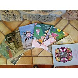 ANIMATION AUCTION CATALOGS, 7 assorted Sothebys 1989-97, ALL are NM-Mint