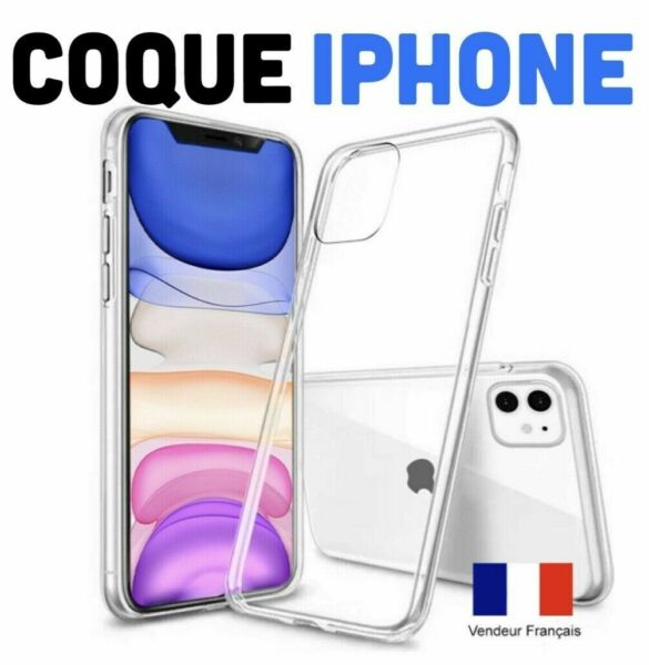Coque iPhone 11 iPhone 11 Pro Max Etui House Transparent Silicone Ultra Fine