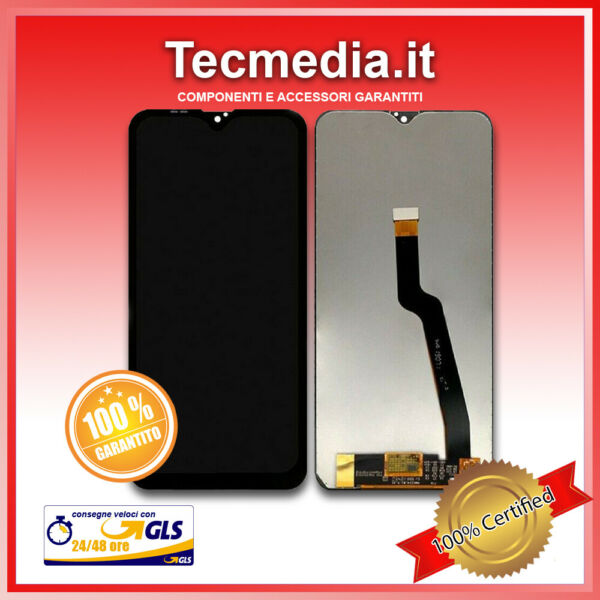 Schermo Display LCD compatibile per Samsung Galaxy A10 Black AAA+