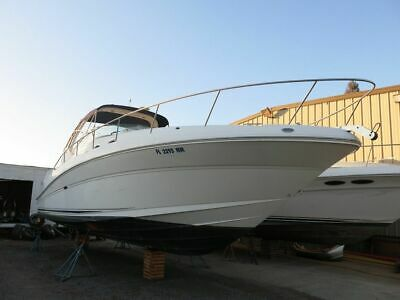 2004 Sea Ray 340 Sundancer boat Cruiser Clean Title Low Reserve 04 Low Hours