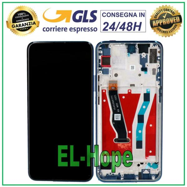 TOUCH SCREEN VETRO PER SAMSUNG GALAXY TAB A SM T580 T585 TABLET NERO BIADESIVO