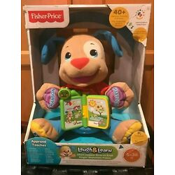 Fisher-Price Laugh and Learn Singin' Storytime Puppy 6-36 months  French Edition