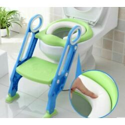Kyпить Toddler Toilet Chair Kids Potty Training Seat with Step Stool Ladder на еВаy.соm