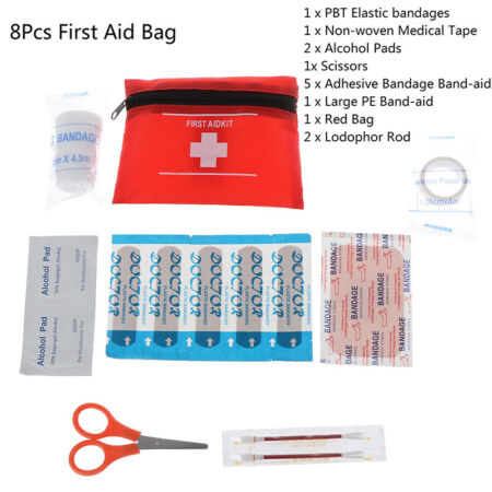 img-First Aid Energency Kit Camping Sport Travel Emergency Survival Kit Medical B WR