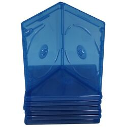 Kyпить (3) Bluray Replacement 12mm 2-Disc Blu-Ray Double With Logo Premium Movie Cases на еВаy.соm