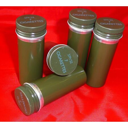 img-Ration Tin x 5 - Ex MOD Survival Kit Cigarette Containers