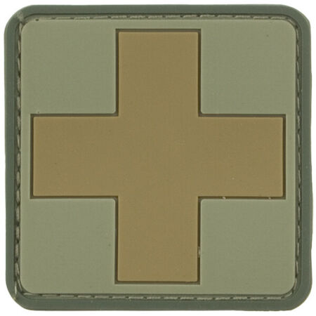 img-VIPER FIRST RESPONDER MILITARY RESCUE MEDIC RUBBER 3D SUBDUED PATCH V-CAM