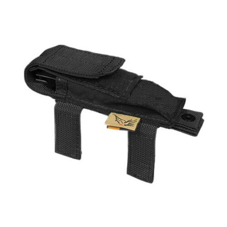 img-FLYYE ARMY TACTICAL KNIFE POUCH COMBAT MOLLE POCKET AIRSOFT CORDURA NYLON BLACK