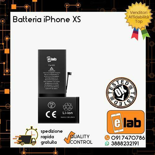 BATTERIA PER APPLE IPHONE XS 2658 mAh RICAMBIO PILA CAPACITA' ORIGINALE