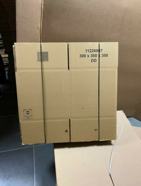 10 Carton d'emballage 300x300x300 Double Cannelure