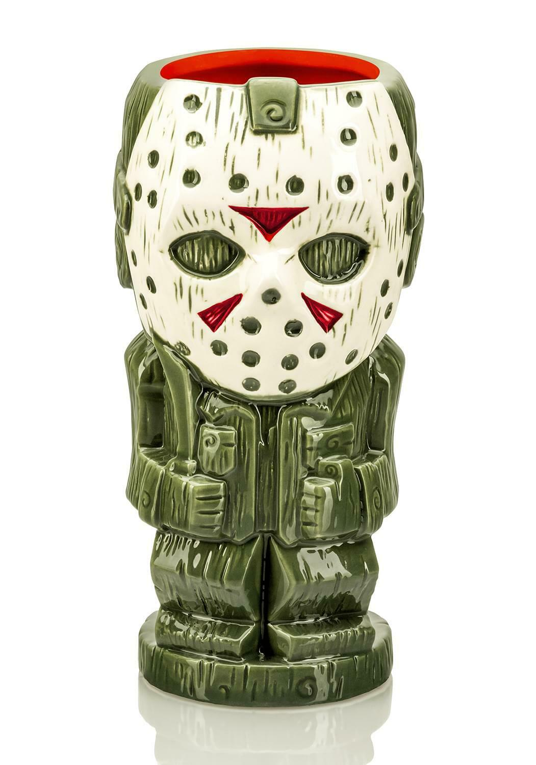 UPC 850009015150 product image for Geeki Tikis Friday The 13th Jason Voorhees | Ceramic Tiki Mug | Holds 26 Ounces | upcitemdb.com
