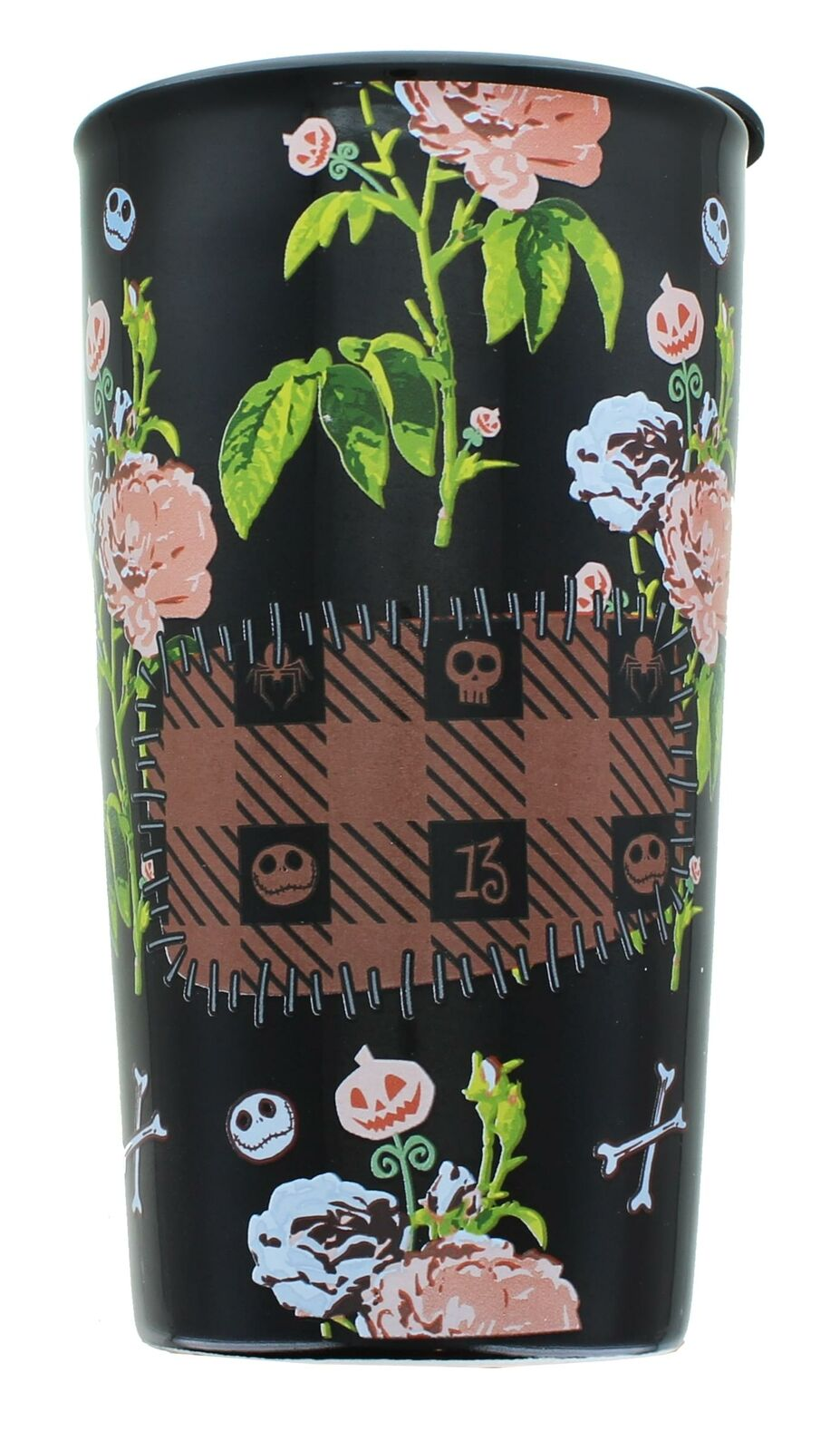 UPC 842906126428 product image for Nightmare Before Christmas Patched Up 12oz Ceramic Tumbler   upcitemdb.com
