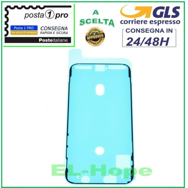 FRAME CORNICE ADESIVA BIADESIVO IMPERMEABILE TELAIO LCD DISPLAY APPLE IPHONE X