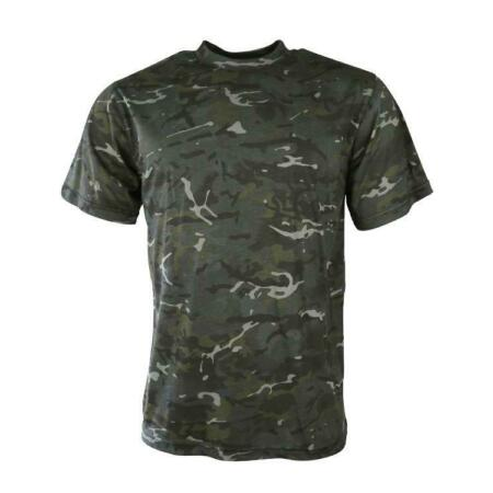 img-Mens Army Camouflage military camo T Shirt BTP Black British Terrain Pattern