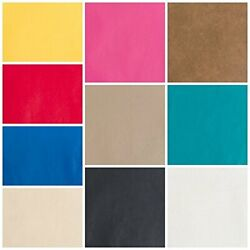 Kyпить Faux Leather Upholstery Pleather Vinyl Fabric Choose Your Color  на еВаy.соm