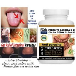 Kyпить Intestinal Parasite Cleanse Detox Dietary Capsules Supports Digestion Free Ship  на еВаy.соm