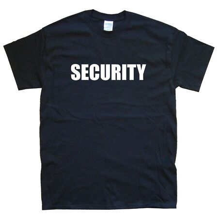 img-SECURITY new T-SHIRT in 15 Colours sizes S M L XL XXL funny