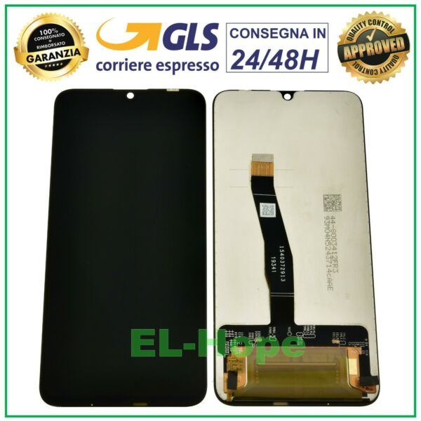 DISPLAY LCD HUAWEI HONOR 20 LITE HRY-LX1T L21T TOUCH SCREEN SCHERMO VETRO NERO
