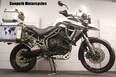 2016 TRIUMPH TIGER 800 XCX 15584 MILES FSH ABSOLUTELY LOADED!